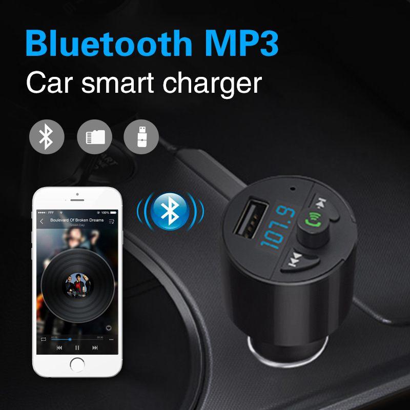 2x radio transmetteur fm bluetooth pour la voiture. Black Bedroom Furniture Sets. Home Design Ideas