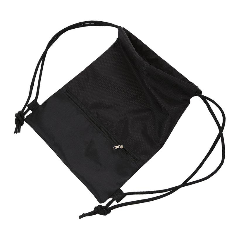 Sports-Bag-Waterproof-Gym-Bag-Large-Capacity-Drawstring-Bag-Foldable-Sack-DG1S7 thumbnail 12