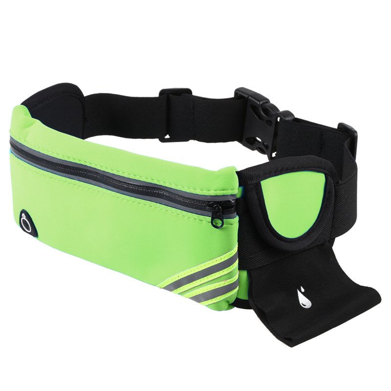 1X-Running-Belt-Waist-Pack-Pouch-Reflective-Water-Resistant-Cell-Phone-Hold-K7O5 thumbnail 3