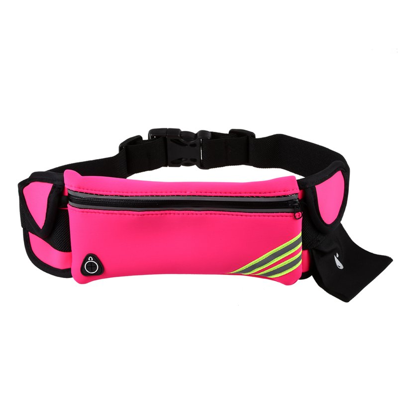 1X-Running-Belt-Waist-Pack-Pouch-Reflective-Water-Resistant-Cell-Phone-Hold-K7O5 thumbnail 5