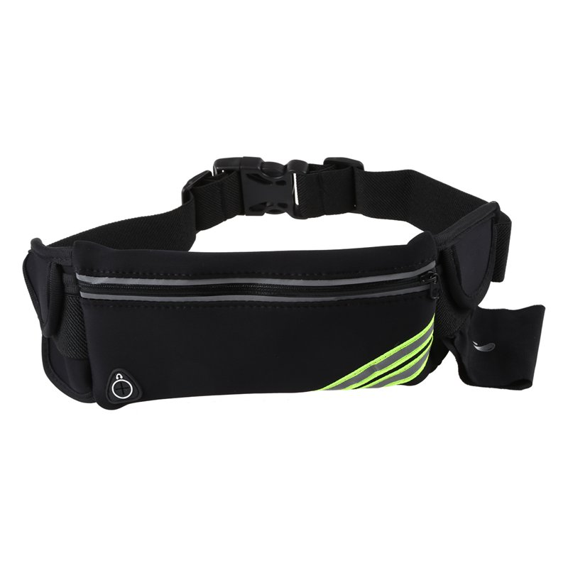 1X-Running-Belt-Waist-Pack-Pouch-Reflective-Water-Resistant-Cell-Phone-Hold-K7O5 thumbnail 6