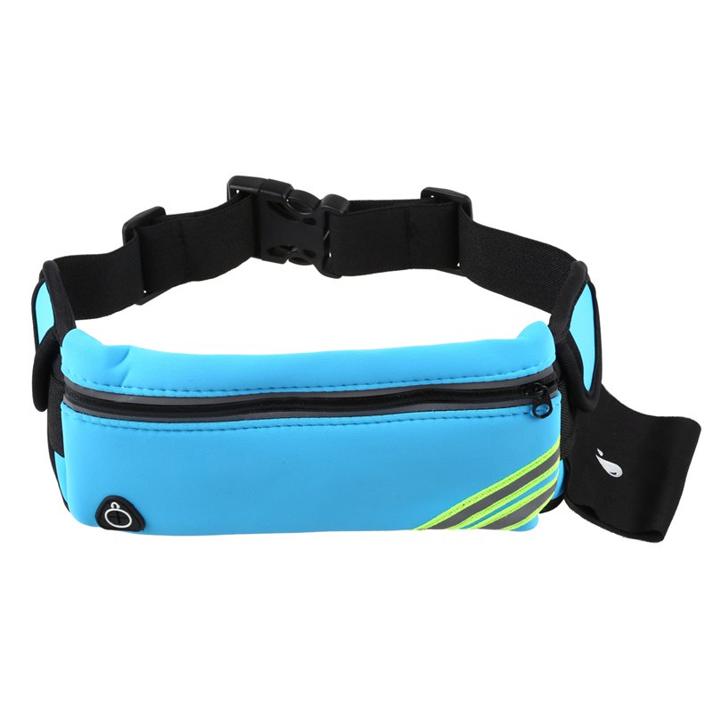 1X-Running-Belt-Waist-Pack-Pouch-Reflective-Water-Resistant-Cell-Phone-Hold-K7O5 thumbnail 7