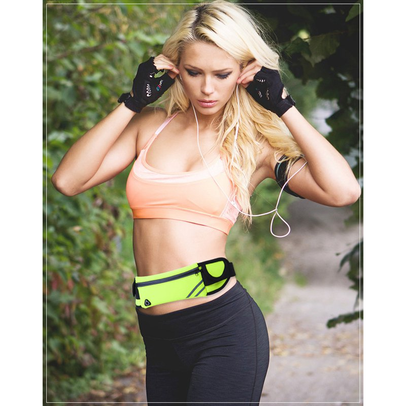 1X-Running-Belt-Waist-Pack-Pouch-Reflective-Water-Resistant-Cell-Phone-Hold-K7O5 thumbnail 8