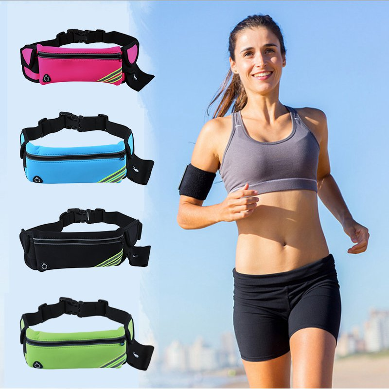 1X-Running-Belt-Waist-Pack-Pouch-Reflective-Water-Resistant-Cell-Phone-Hold-K7O5 thumbnail 9