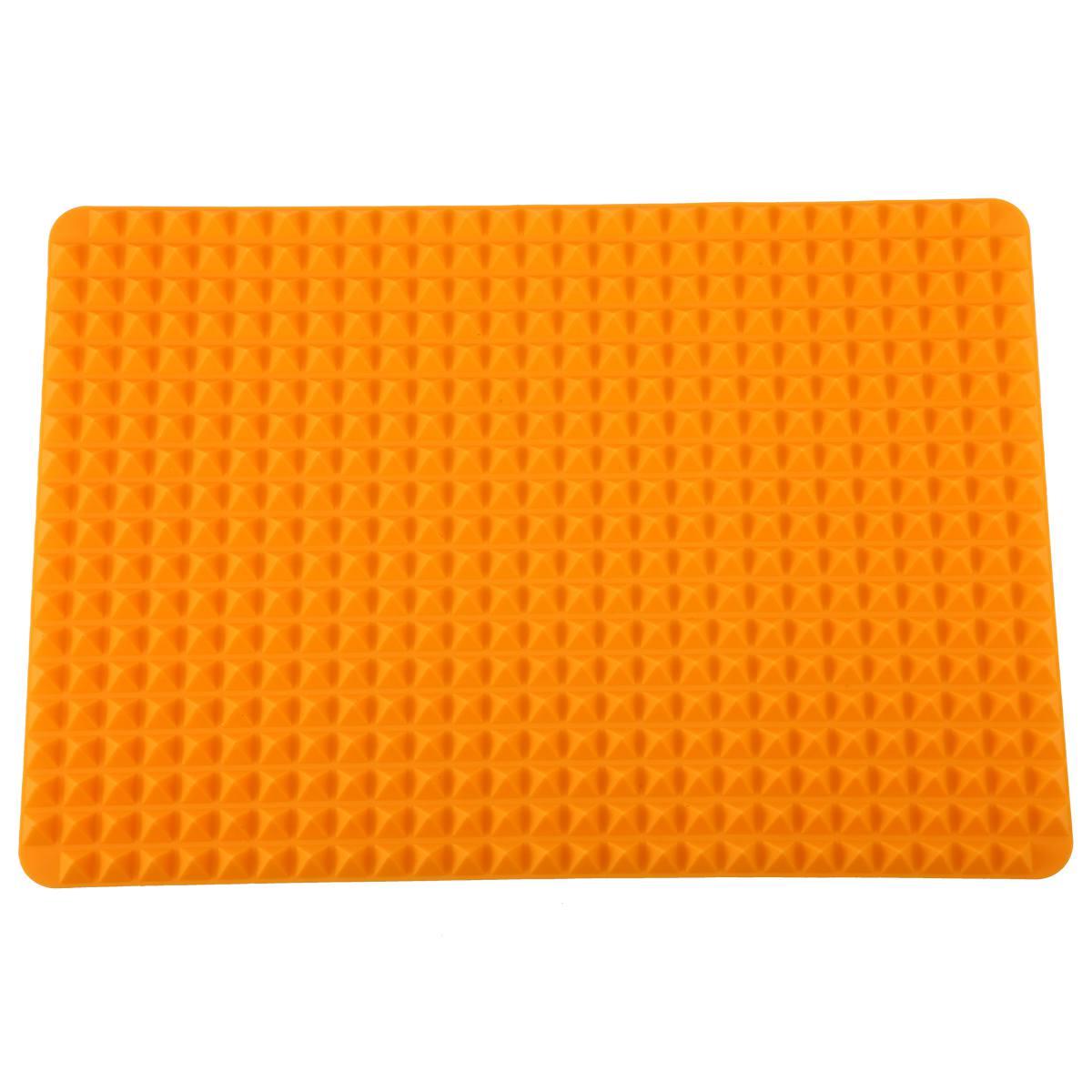 Silikon-Antihaft-gesunde-Kochen-Backmatte-mit-Pyramide-Oberflaeche-16-Zoll-F5L9 Indexbild 2