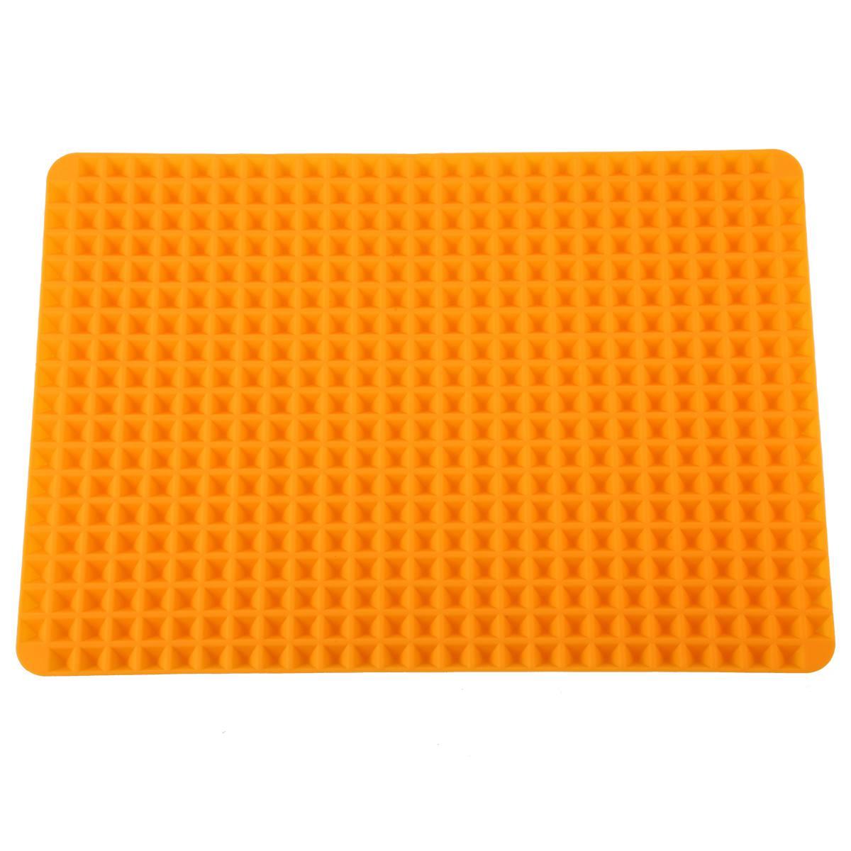 Silikon-Antihaft-gesunde-Kochen-Backmatte-mit-Pyramide-Oberflaeche-16-Zoll-F5L9 Indexbild 3