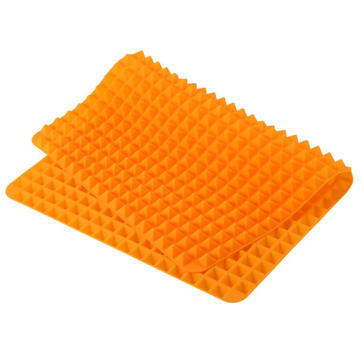 Silikon-Antihaft-gesunde-Kochen-Backmatte-mit-Pyramide-Oberflaeche-16-Zoll-F5L9 Indexbild 4