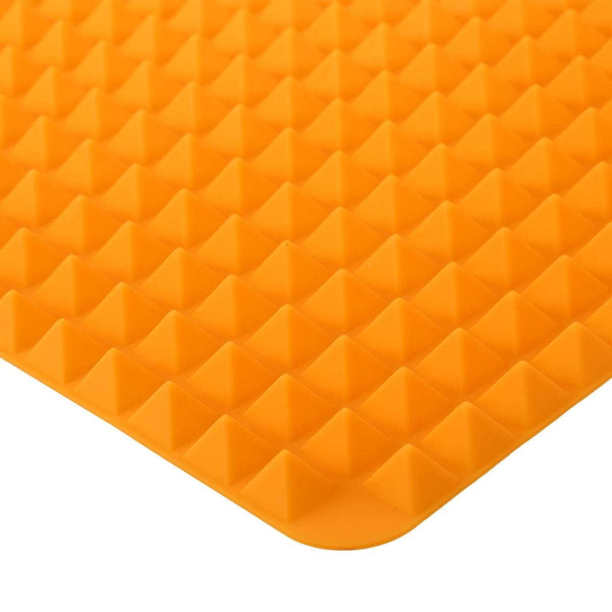 Silikon-Antihaft-gesunde-Kochen-Backmatte-mit-Pyramide-Oberflaeche-16-Zoll-F5L9 Indexbild 7