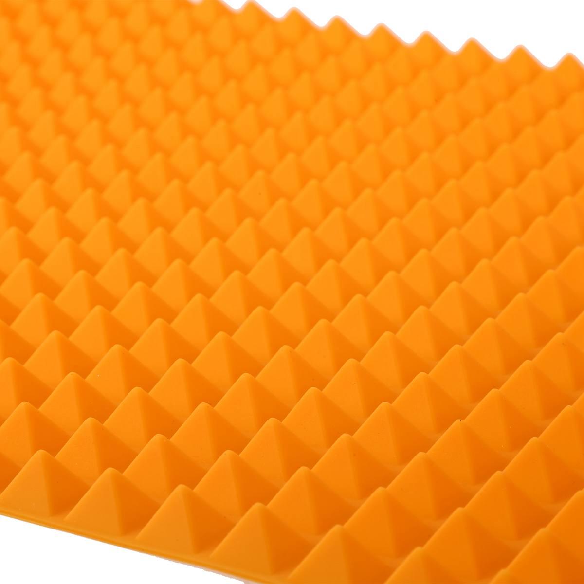 Silikon-Antihaft-gesunde-Kochen-Backmatte-mit-Pyramide-Oberflaeche-16-Zoll-F5L9 Indexbild 8