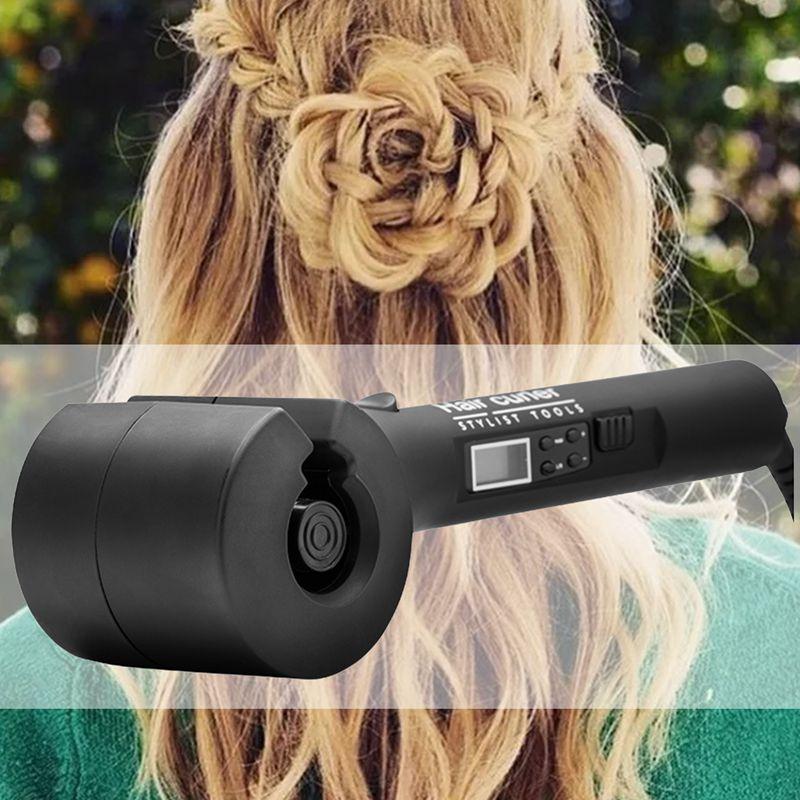 SHOWCHARM-Dispositif-a-Friser-des-Cheveux-Automatique-En-Ceramique-Fer-Avec-5D3 miniature 9