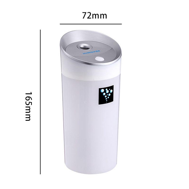 300-ML-Ultraschall-luftbefeuchter-USB-Auto-Luftbefeuchter-Mini-Aroma-ESSEN-R4Q7 Indexbild 3