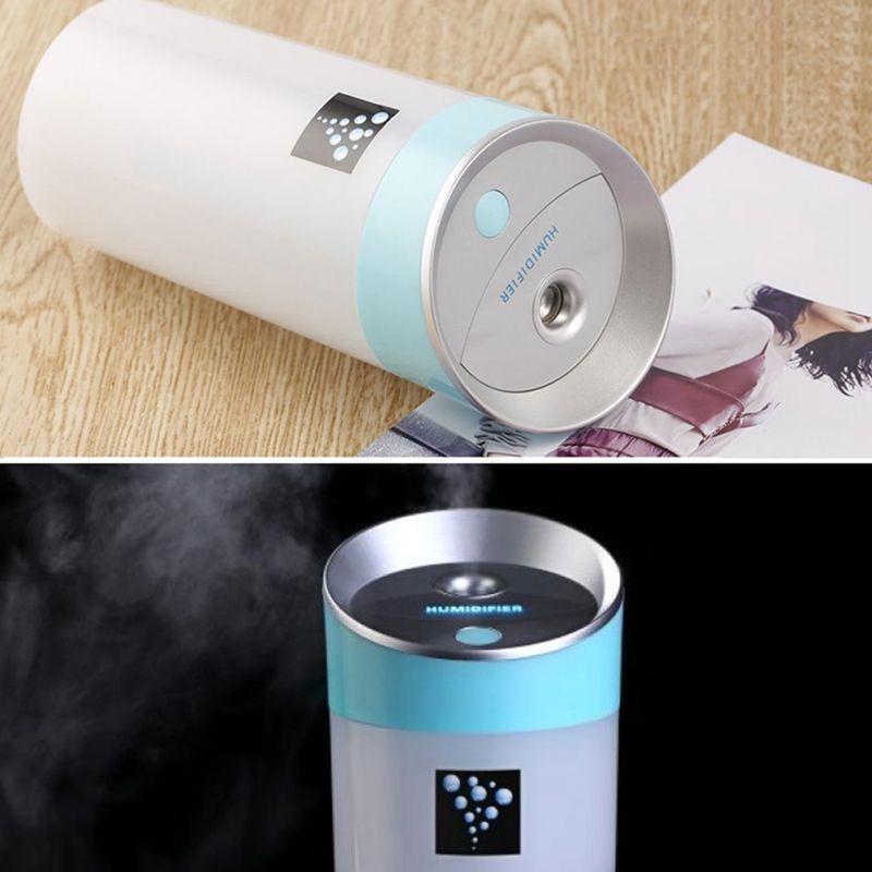300-ML-Ultraschall-luftbefeuchter-USB-Auto-Luftbefeuchter-Mini-Aroma-ESSEN-R4Q7 Indexbild 13