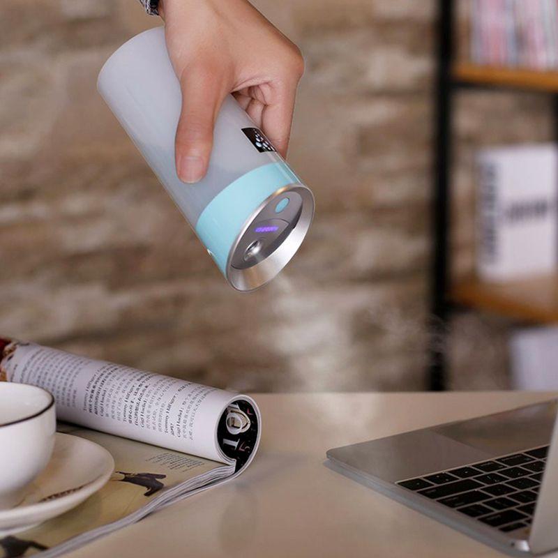 300-ML-Ultraschall-luftbefeuchter-USB-Auto-Luftbefeuchter-Mini-Aroma-ESSEN-R4Q7 Indexbild 14