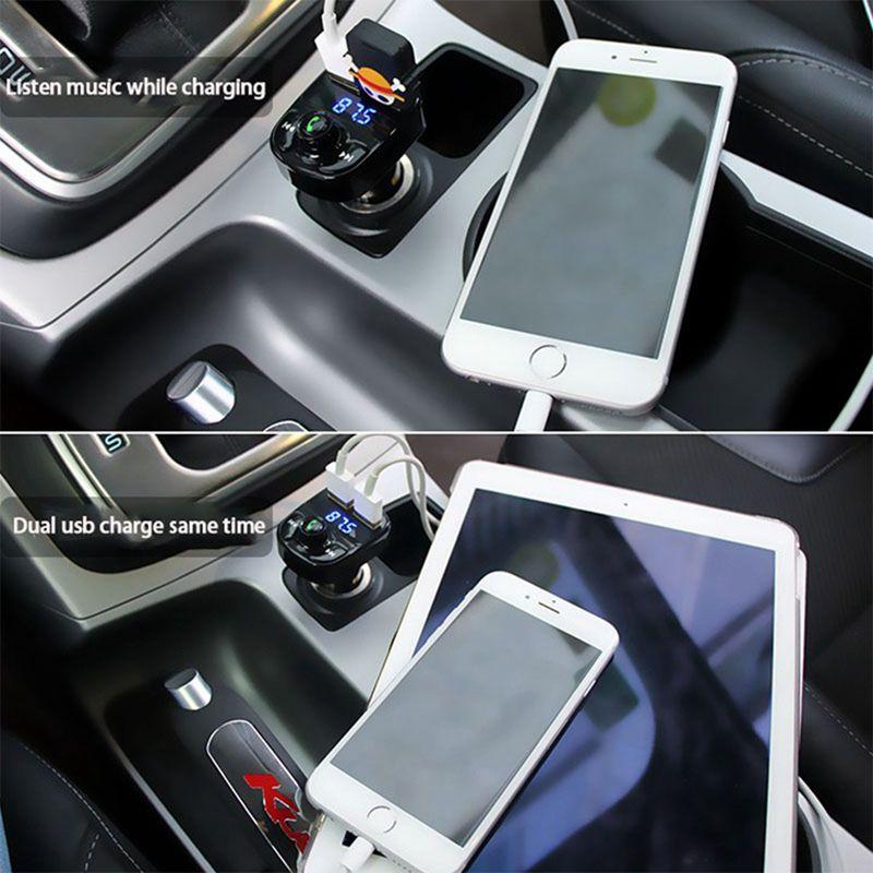 Transmisor-FM-de-Kit-de-coche-Bluetooth-Reproductor-de-audio-MP3-de-coche-m-H2S7