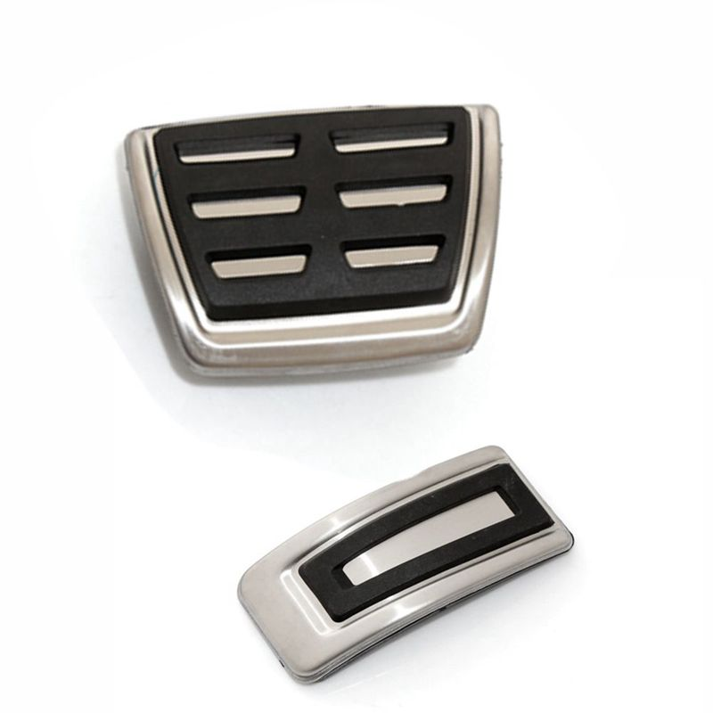 Car styling Sport Fuel Brake Dead Pedal Cover Set