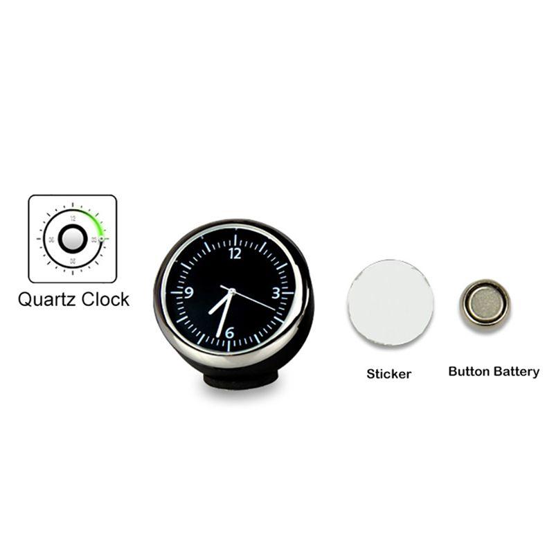 Mini horloge numerique voiture automobile montre automatique decoration autom ci ebay for Montre decoration
