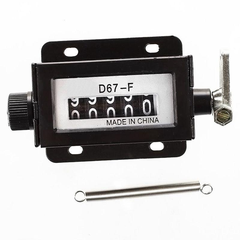 Boitier-noir-D67-F-5-digits-compteur-de-traction-mecanique-C6F2