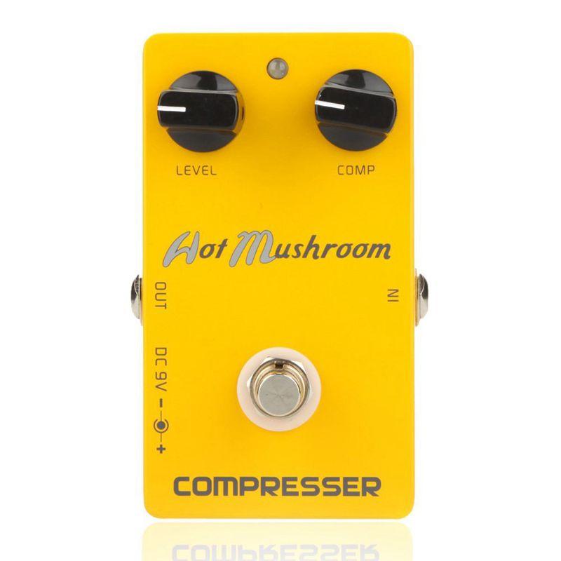 Caline-CP-10-Kompressor-Gitarren-Effekt-Pedal-Heiss-Pilz-Aluminiumlegierung-R7W8