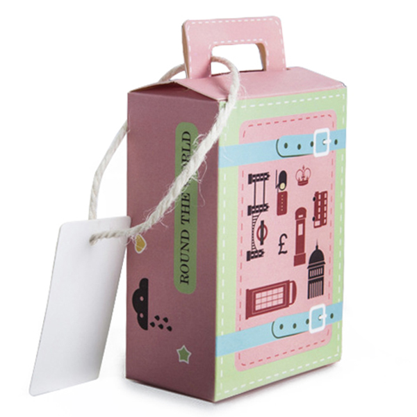 Creative suitcase paper box wedding supplies candy boxpink a8g7 ebay image is loading creative suitcase paper box wedding supplies candy box junglespirit Images