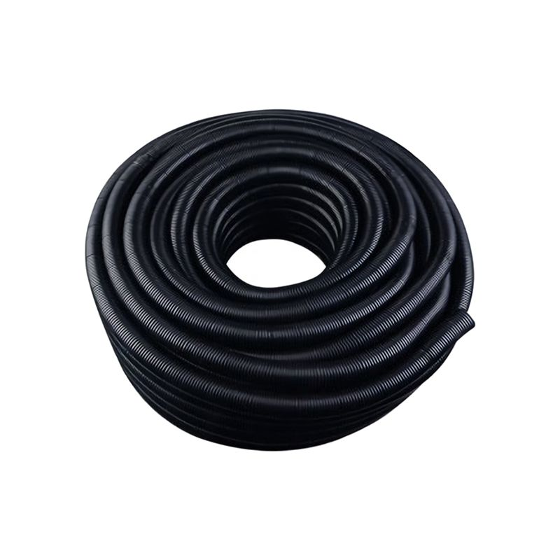 20 FT 1/4 Inch Split Wire Loom Conduit Polyethylene Tubing Black ...