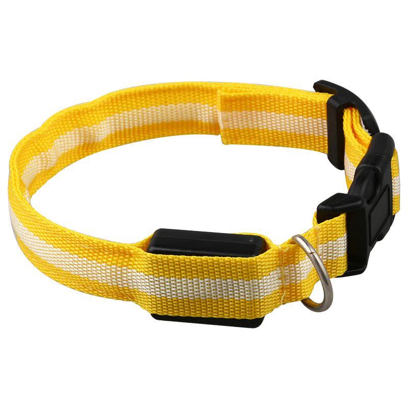 10X-Glow-LED-Cat-Dog-Pet-Collar-Flashing-Light-Up-Safety-Collar-Red-M-N9N6 thumbnail 30