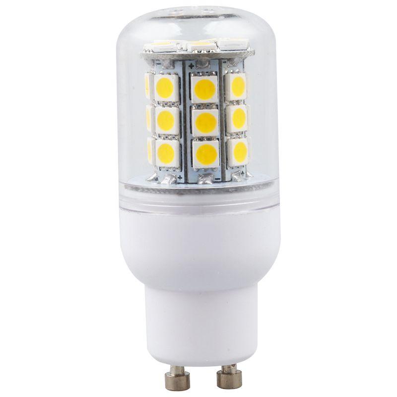 2X(1x GU10 4W SMD 5050 30 LED Lampe Birne Leuchtmittel Warmweiss ...
