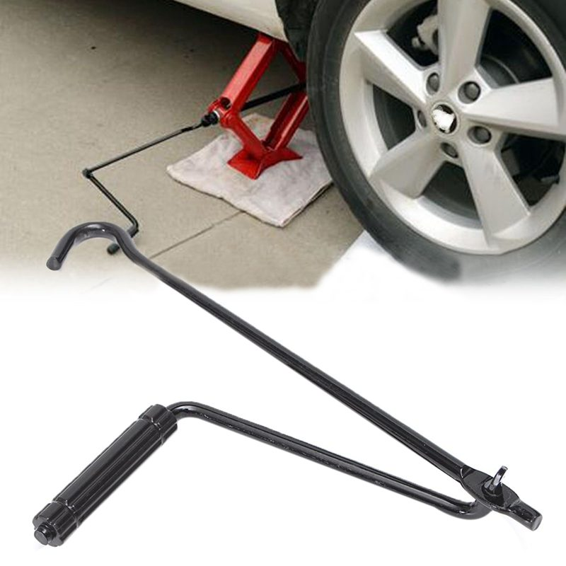 10X-Car-Jack-Hand-Crank-Wheel-Spanner-Handle-for-Scissor-Car-Lift-I1Z9