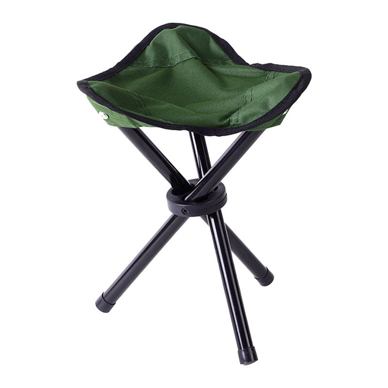 Folding Tripod Stool Outdoor Portable Camping Seat