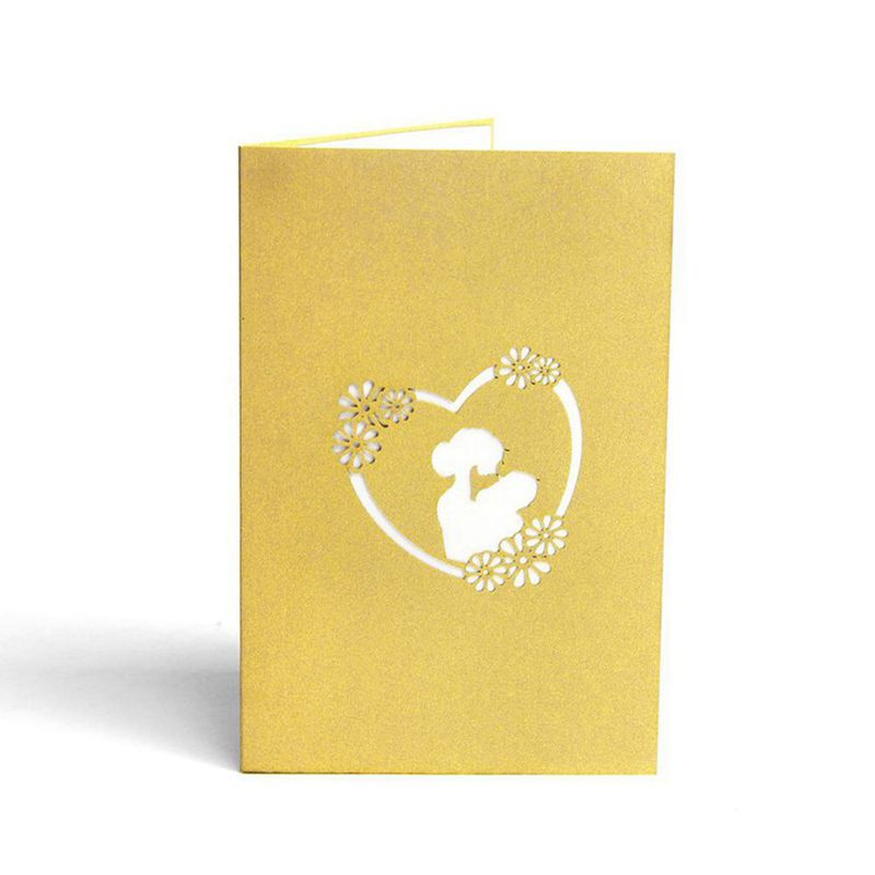 3d pop up greeting cards for mom customized thank you card