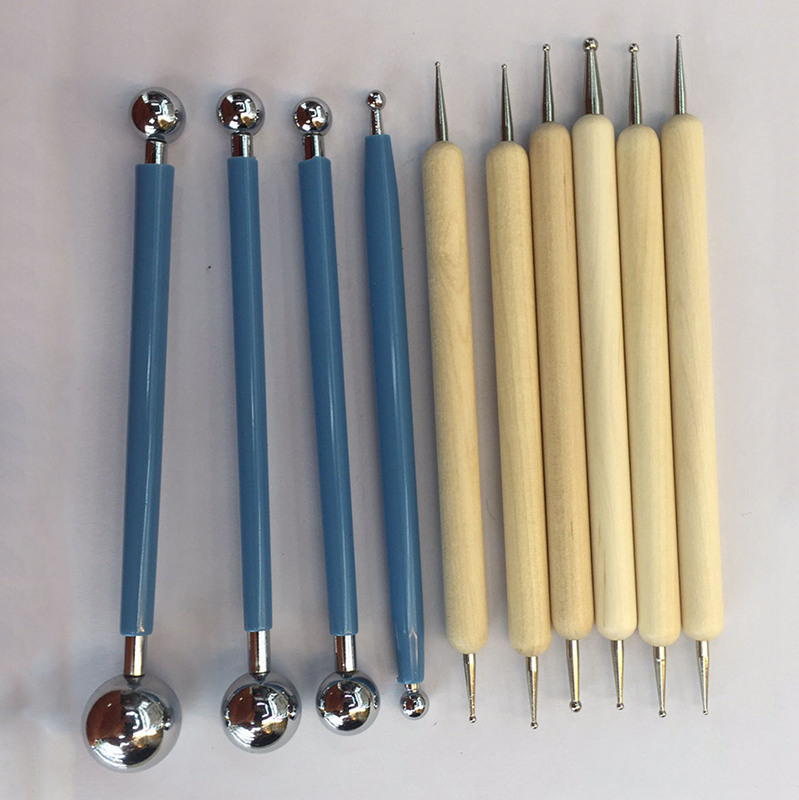 10-Piece-Dotting-Tools-Ball-Styluses-for-Mandala-Rock-Painting-Pottery-Clay-SHJ