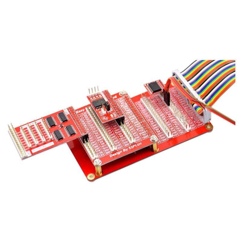 2X-For-52Pi-Raspberry-Pi-2-model-B-B-A-HAT-Breakout-Shield-DIY-GPIO-Exp-B7O3