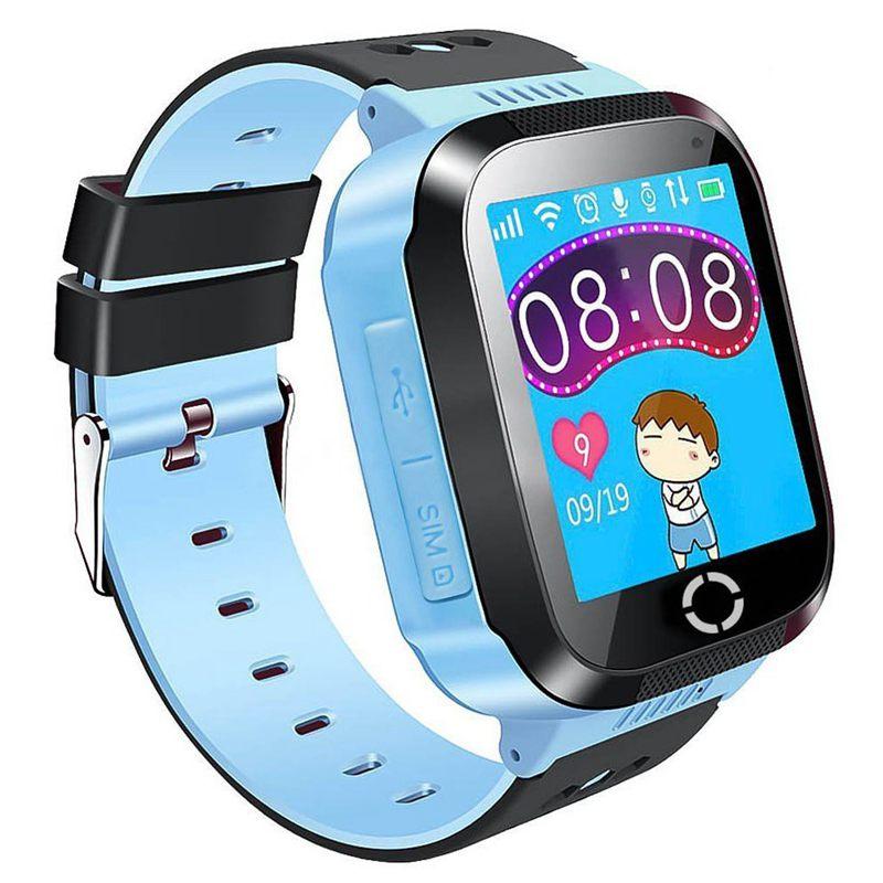 4x kinder gps smartwatch zoll smart uhr armband fuer. Black Bedroom Furniture Sets. Home Design Ideas