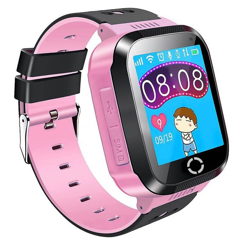 kinder gps smartwatch zoll smart uhr armband fuer. Black Bedroom Furniture Sets. Home Design Ideas