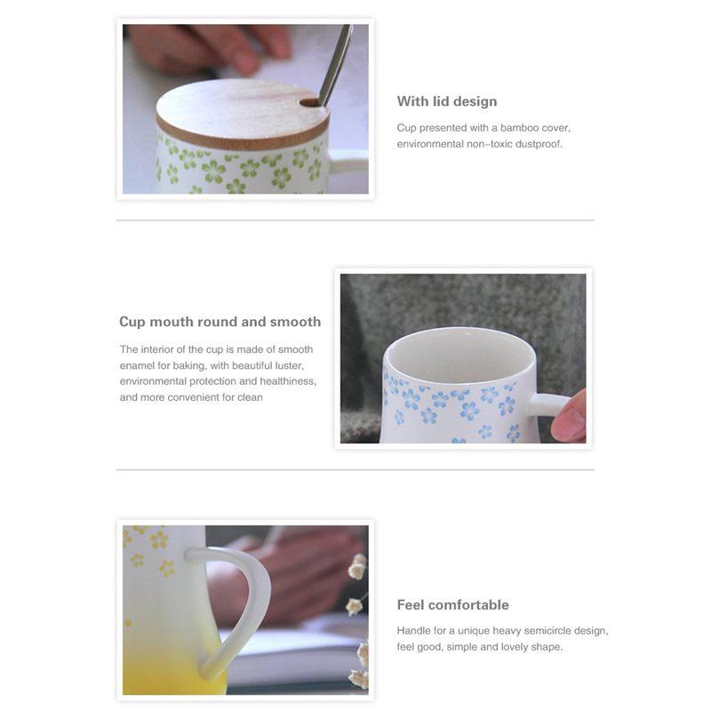 kaffeebecher kaffeetasse mit deckel loeffel keramik tee tassen lustige i3p5 ebay. Black Bedroom Furniture Sets. Home Design Ideas
