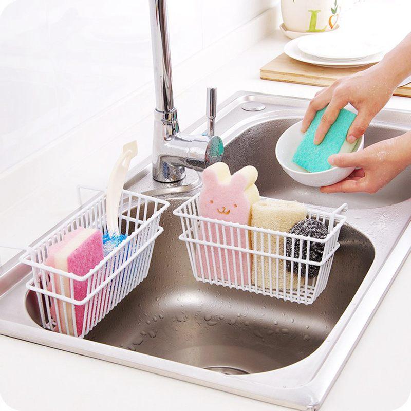 Kitchen Sink Sponge Holder: Sponge Holder,Sink Caddy,Kitchen Sink Suction Sponge