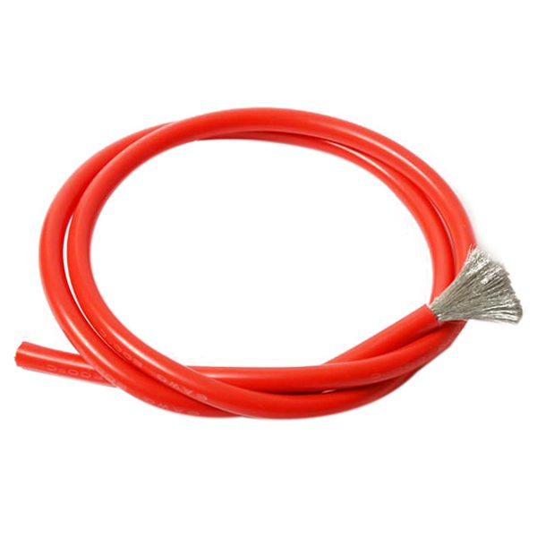 10 Gauge AWG wire 6M red cable power ground stranded primary fast ...