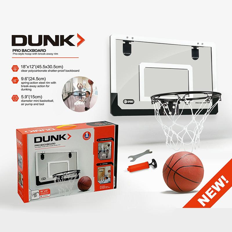 Mini aro de baloncesto con pelota 18 pulgadas x x x 12 pulgadas Tablero inastil Z3O9 f6efb7