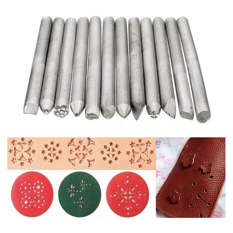 12-piezas-de-Perforadora-de-sello-de-Joyeria-de-Oro-de-Acero-inoxidable-herramie