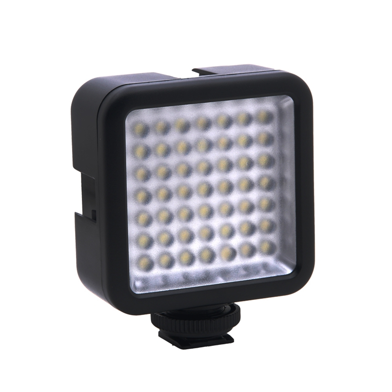 Mini DC 3V 5.5W 49 LED Video Camera Light Panel Lamp 6000K for Nikon DSLR M Y6H8