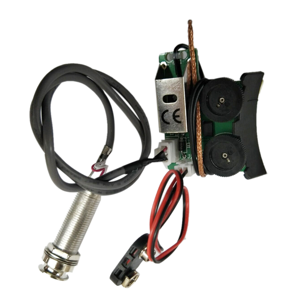 Under Saddle Piezo Pickup Onboard Preamp System For Acoustic Guitar Wiring Machine Meet The Needs Of Guitars Designed To Features A Soundhole Mounted With