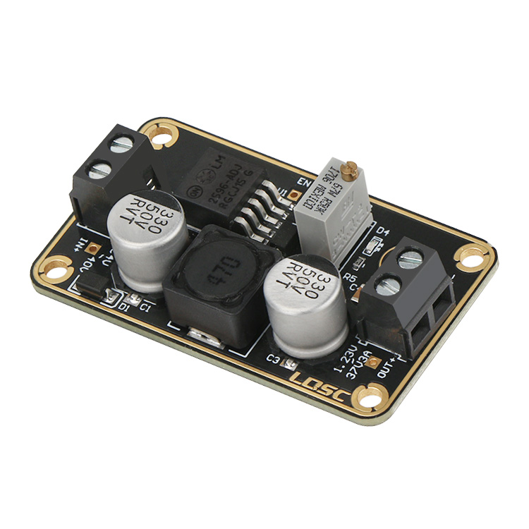 3v 3a Regulator Switching By Lm2576
