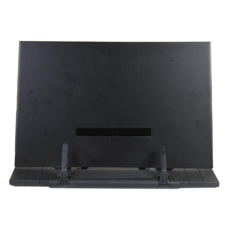 Portable Book Stand Frame Reading Desk Holder With 7 Tilt Adjule Groove S3o6