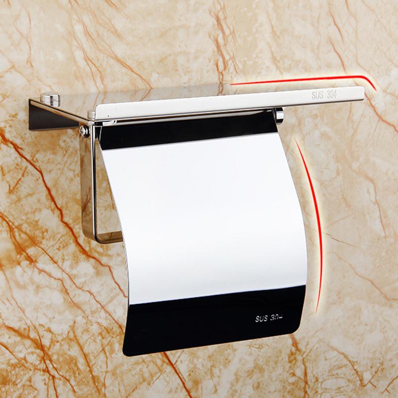 5X(Toilettenpapierhalter mit Regal - Toilettenpapierhalter Toilettenpapierh N7H1 | Online Outlet Store