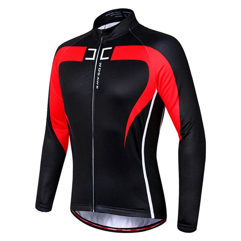 WOSAWE Thermal Cycling Top Jersey Long Sleeve Mountain Bike Mens Cycling JA  T7e3. About this product. Picture 1 of 11  Picture 2 of 11 ... ee5332b78