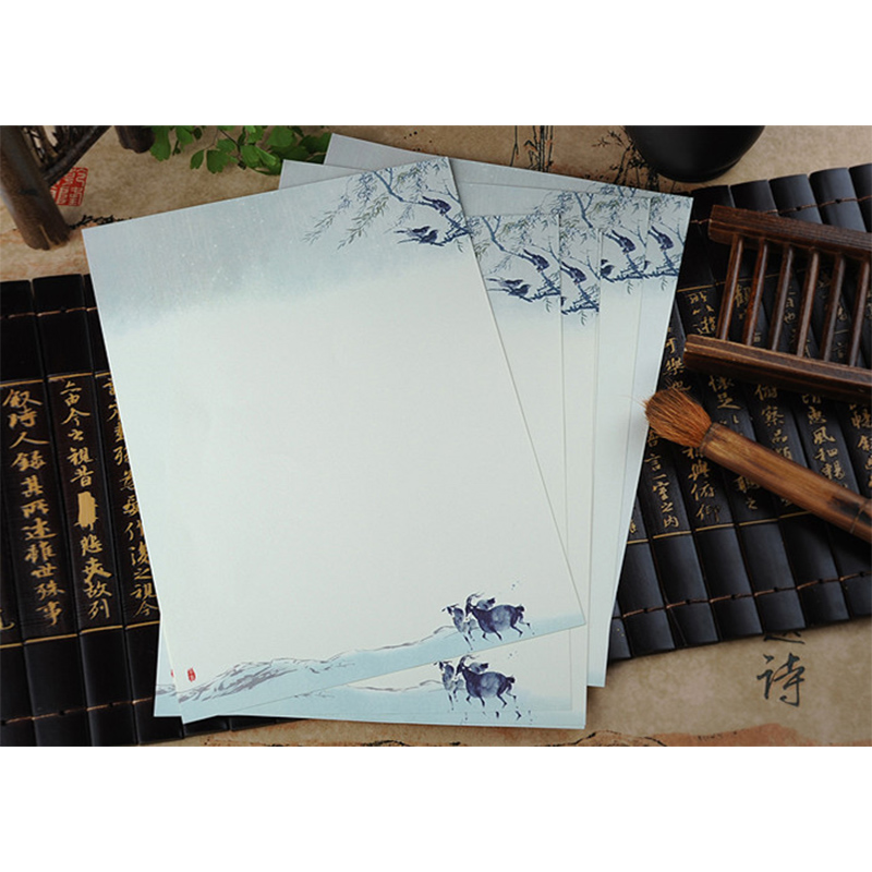 40 pcs letter writing stationery paper letter set with 20 pcs