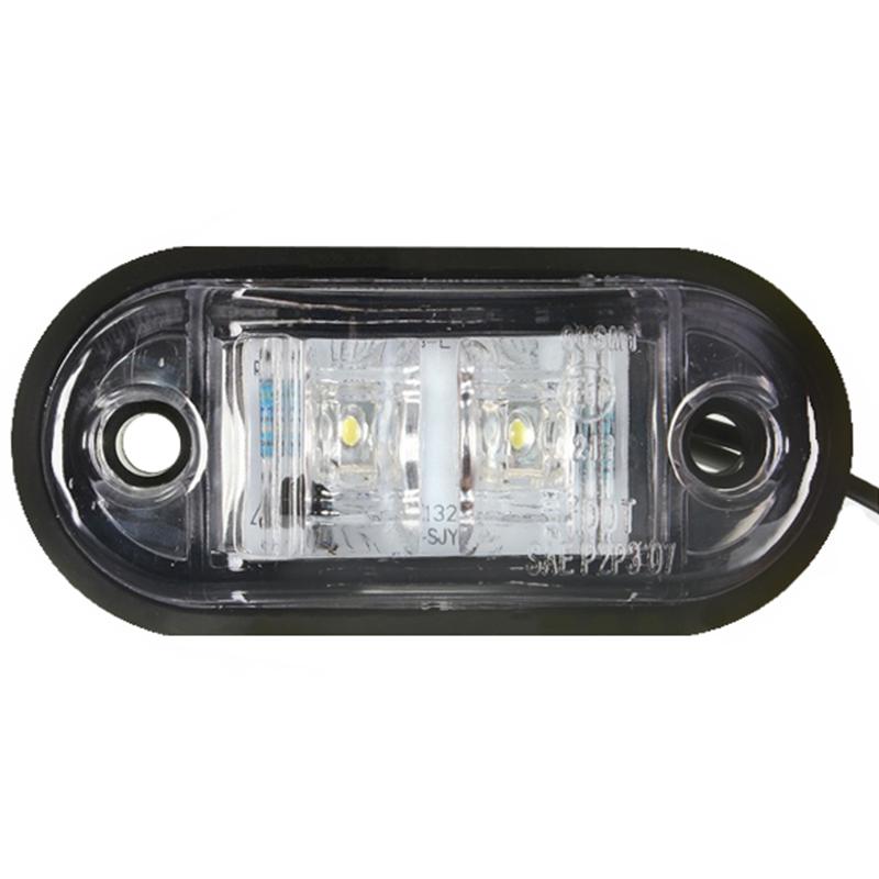 12V-24V-2-LED-Lampara-luces-de-marcador-lateral-para-remolque-camion-coche-U5 miniatura 5