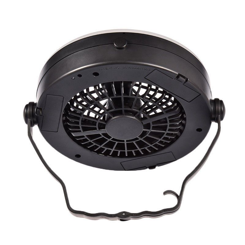 Outdoor Camping Portable Usb Rechargeable Led Multifunction Fan