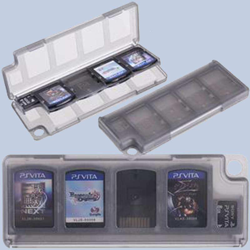 Orderly 5x noir Boite/etui Pour Disquette De Jeu-video/carte Memoire Pour Sony Ps V O4m2 Bracing Up The Whole System And Strengthening It Other Watches
