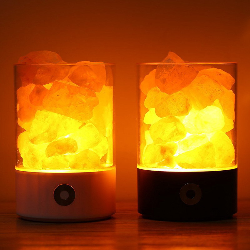 Good For Health: Himalayan Salt Lamp Enhances The Ionic Balance Of Your  Living Spaces;When Heated, The Salt Crystal Lamp Emits Negative Ions That  Fight ...