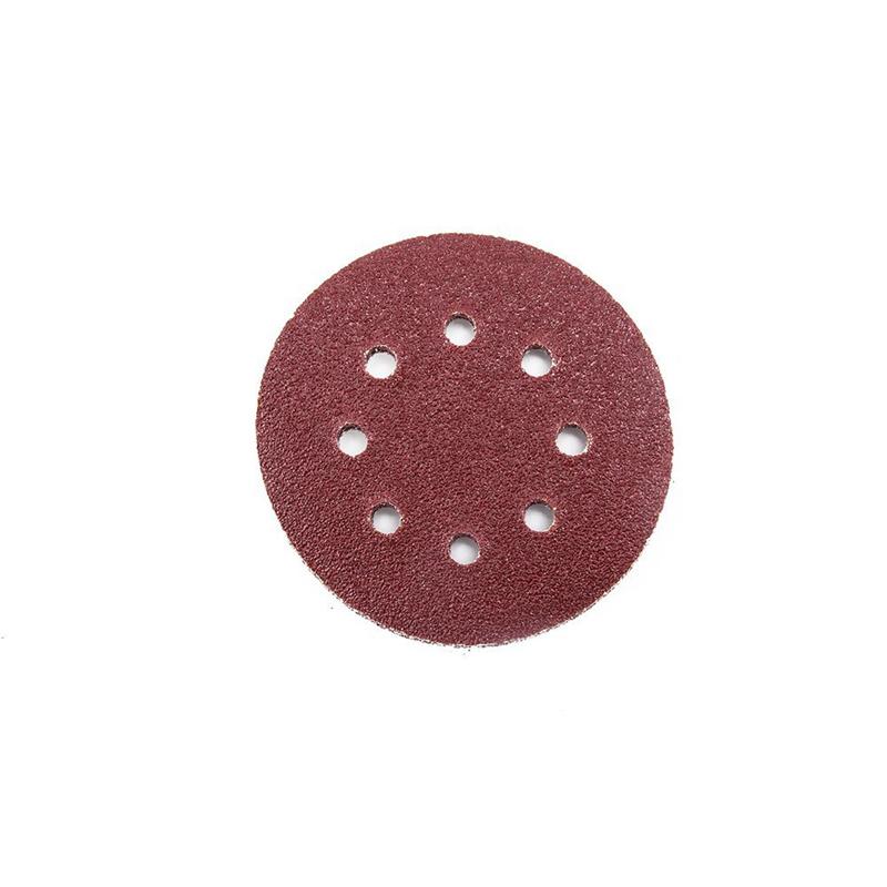 80PCS Sanding Discs Pads 40 60 80 100 120 150 180 240 320 400 Grits 8-Hole Y4F3